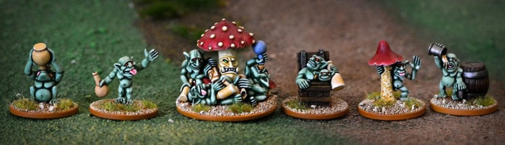 High-class miniatures created by the Goblin Master Kevin Adams