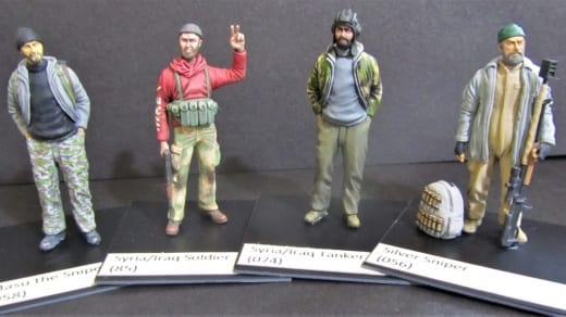 Red Zebra are a military modelling company who specialise in creating figures from conflicts in the Middle East using Sylmasta Magic Sculp and Green Stuff