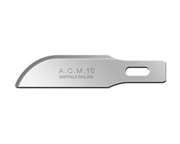 Swann-Morton ACM No.10 Blade is used for general cutting and light carving