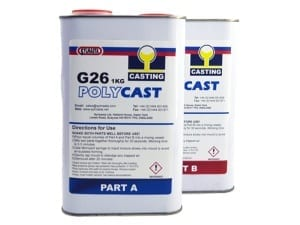 PolyCast G26 Polyurethane Casting Resin is a medium viscosity resin from Sylmasta