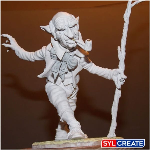 A highly detailed gone carved using Geomfix Epoxy Modelling Putty