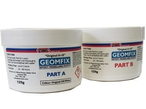 Geomfix A+B Epoxy Putty is the original modelling putty from Sylmasta uses by model makers and restorers worldwide