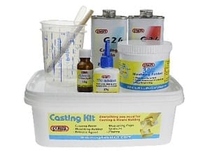 The Sylmasta Casting Kit contains all the products and equipment needed to being resin casting and creating casts