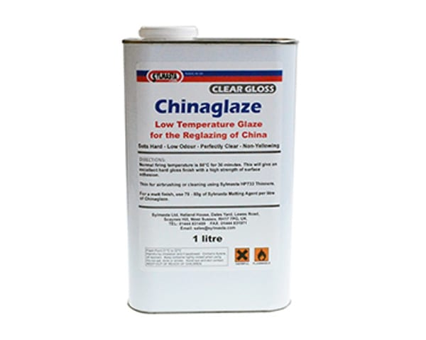 Chinaglaze Low Temperature is a perfectly clear, non-yellowing clear glaze used to repair and reglaze china and other ceramics