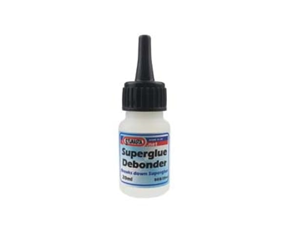 Sylmasta Superglue Debonder is used to break down Superglue joints, remove Superglue from fingers, clean up spills and tidy up errant applications