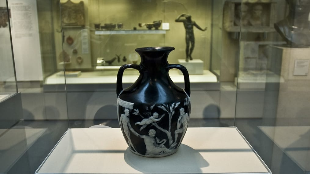 The restoration of the Portland Vase took place over nine months in 1988 and involved Hxtal NYL-1 Epoxy Adhesive being used to glue the 189 pieces together