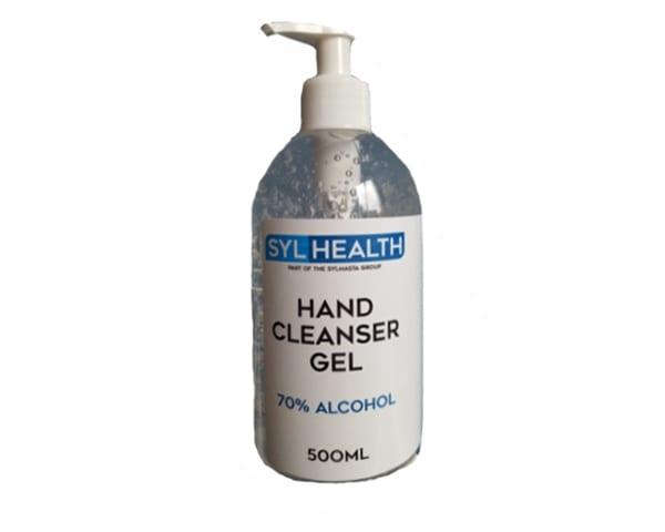 70% Alcohol Hand Sanitiser Gel kills 99% of viruses, germs and bacteria