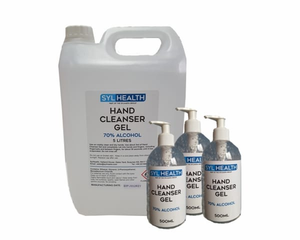 SylHealth Hygeine products help promote clean and healty hands for the model making process