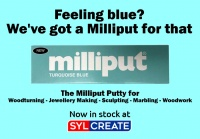 Milliput Turquoise Blue 02