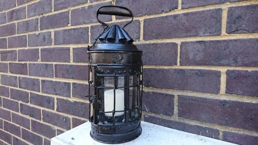 A 19th century lantern restoration carried out by the team at SylCreate using epoxy putty and a metal profile