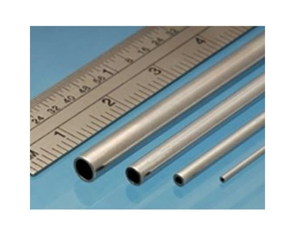 The Aluminium Round Tube is a versatile and high-quality metal profile used in a range of model making tasks