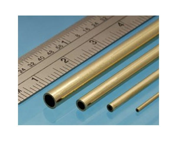 Brass Round Tubes are a high-quality metal profile from SylCreate which some in a range of different sizes to fit any model making requirements