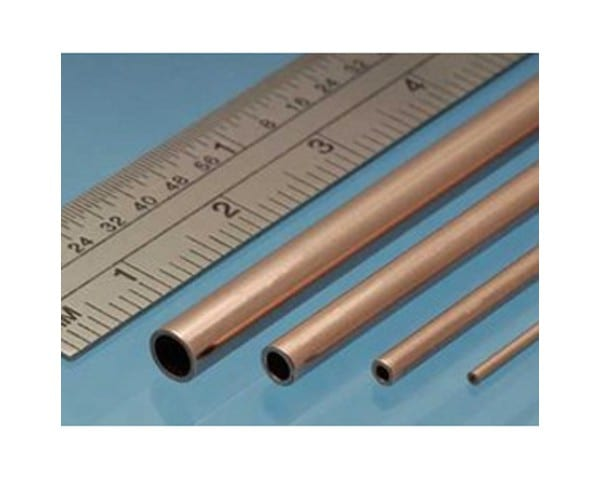 A high-quality Copper Round Tube metal profile used in a range of model making tasks