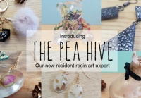 Sylcreate Have Announced An Exciting New Partnership With The Pea Hive Who Create Unique, Hancrafted Resin Art And Jewellery