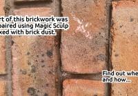 2020-09-17 Brick Restoration Magic Sculp