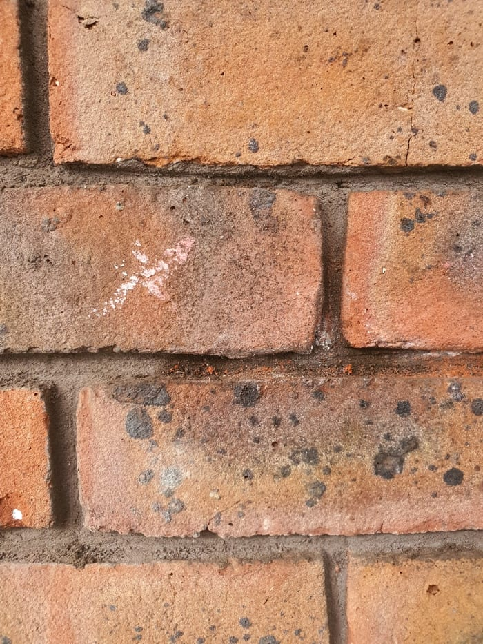 Brickwork restoration carried out using Magic Sculp