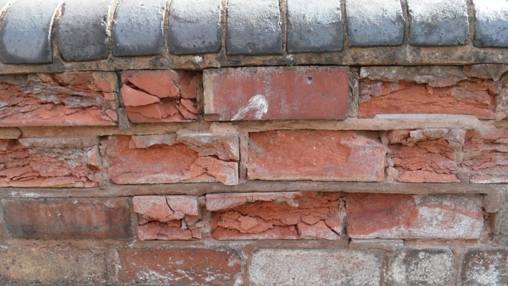 Brick restoration can be carried via the use of epoxy putty and is requried when brickwork becomes damaged through lime blow