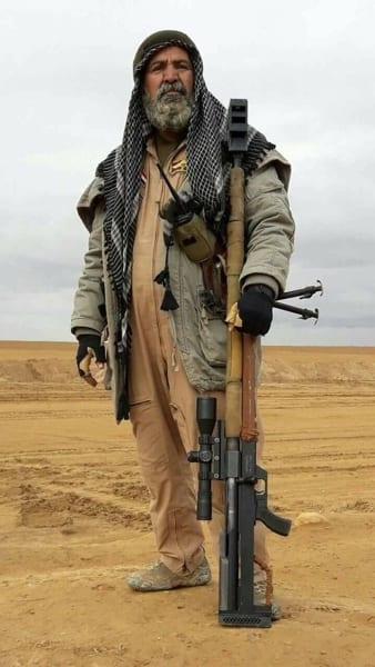 Abu Tashin al-Salhi was a sniper who fought against ISIS in the Iraq-ISIL War