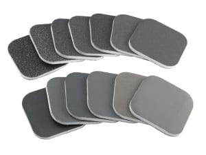 Sylmasta Micro Abrasive Pads are used to polish surfaces in model making and restoration tasks
