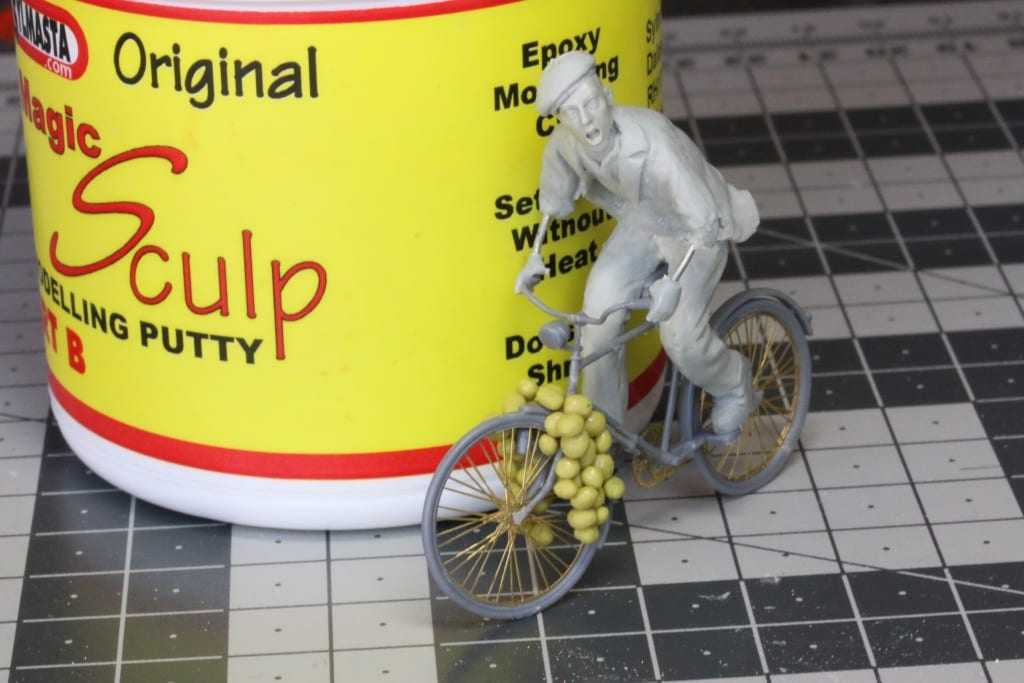 Magic Sculp is an epoxy modelling putty used in scale model making