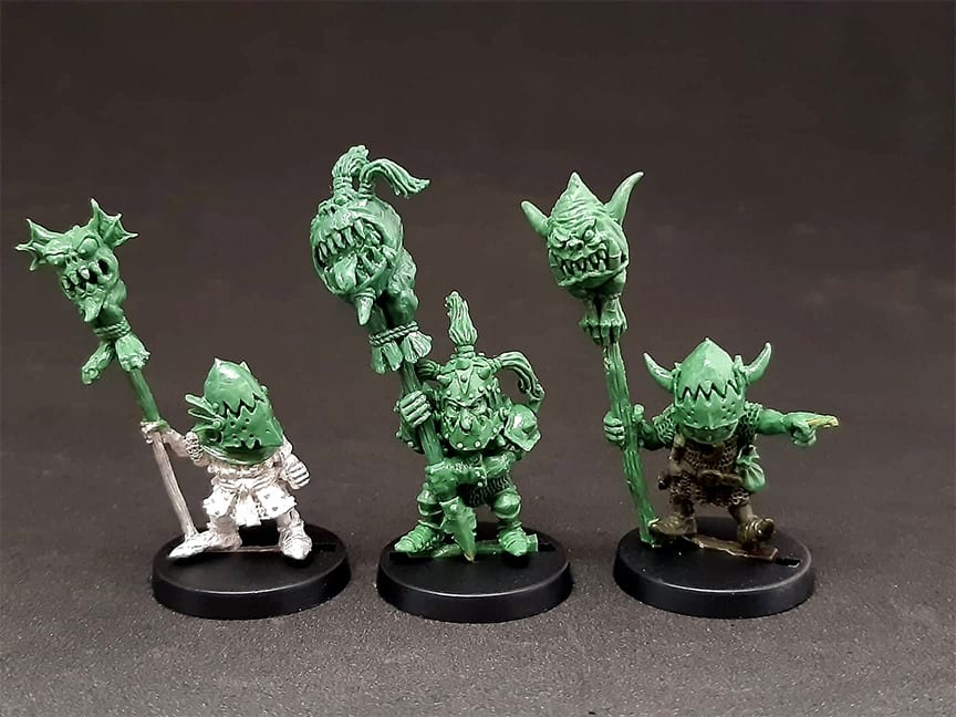 The Goblin Master Kevin Adams is one of the best creator of wargame models with his preferred material being Green Stuff epoxy modelling putty