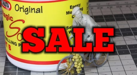 The SylCreate sale offers discounted model making and resin casting products